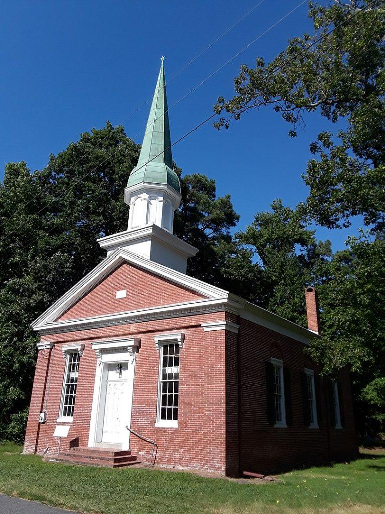Bethlehem Methodist Church and cemetery, Taylors Island, Maryland